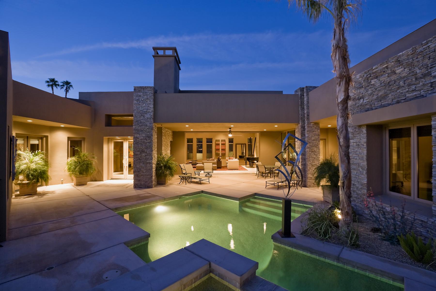 Evening mansion